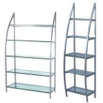salon display shelves