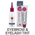 eyelash and eyebrow tint